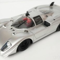 Slot Cars: SLOT CAR SCALEXTRIC FLY 88118 FERRARI 512S CODALUNGA SILVER EDITION C-73 SIN GUIA CABLES CORTADOS. Lote 293714608