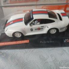 Slot Cars: SC6094R. PORSCHE 959 MARTINI RACING DE SCALEAUTO. Lote 293778753