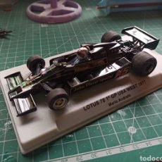 Slot Cars: FLY SLOT F27101- LOTUS 78 GP USA WEST 1977 ANDRETTI. Lote 293924333