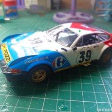 Slot Cars: FERRARI 365 GTB/4 DAYTONA #39 ANDRUET/BALLOT-LENA 5TH LM 1972 FLY CAR MODEL 1:32. Lote 294072308