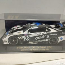 Slot Cars: FLY LISTER STORM 24H LE MANS 1996. Lote 294957733