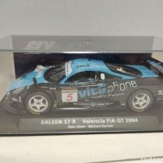 Slot Cars: FLY SALEEN S7R VALENCIA FIA GT 2004 REF. 88116. Lote 294958373