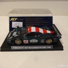 Slot Cars: FLY. PORSCHE 911 GT1 98. DONINGTON PARK 1998. REF. A-76. Lote 295791143