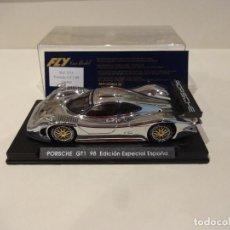 Slot Cars: FLY. PORSCHE 911 GT1 98. ED. ESP. CROMO. REF. E-73. Lote 295791403
