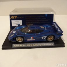 Slot Cars: FLY. PORSCHE 911 GT1 98. ED. ESP. FRANCIA. REF. E-74. Lote 295791523