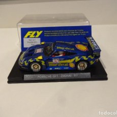 Slot Cars: FLY. PORSCHE 911 GT1 EVO. ZHUHAI 1997. REF. A-37. Lote 295791783