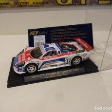 Slot Cars: FLY. SALEEN S7R. CAMPEON DE ESPAÑA GT 2002. REF. A-266. Lote 295792818