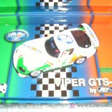 Slot Cars: FLY DODGE VIPER GTS-R 1995-2005 10º ANIVERSARIO DE INTERKITS SERIE LIMITADA MAGIC CARS. Lote 24747821