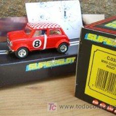 Slot Cars: SCALEXTRIC SUPERSLOT C038 MINI COOPER ROJO. Lote 4487388