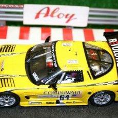Slot Cars: FLY CORVETTE C5R 24 HORAS DE LE MANS 2004 1/32 MAGIC CARS. Lote 26494555