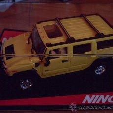 Slot Cars: 50457 - HUMMER YELLOW DE NINCO. Lote 202483066