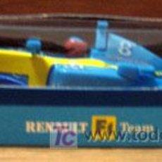 Slot Cars: RENAULT F1 FERNADO ALONSO COCHE SLOT 1/43. Lote 26401747