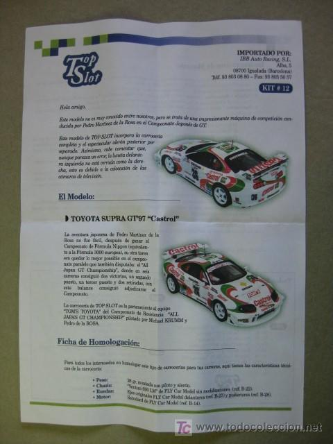 Toyota Supra Gt 97 Castrol Pedro Martinez De Sold Through Direct Sale 17053572