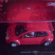 Slot Cars: VW POLO ROJO DE POWER SLOT. Lote 243837640