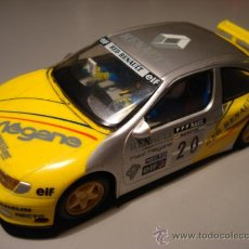 Slot Cars: HORNBY HOBBIES COMPATIBLE SCALEXTRIC RENAULT MEGANE. Lote 26266463