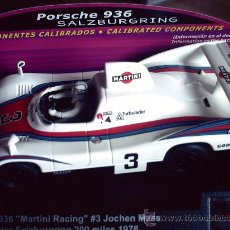 Slot Cars: OFERTA LIMITADA - PORSCHE 936 N3 MARTINI RACING SALZBURGRING CON COMPONENTES CALIBRADOS DE SPIRIT. Lote 137126693