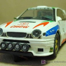 Slot Cars: SLOT CAR, HORNBY, TOYOTA COROLLA WRC, CARLOS SAINZ, FABRICADO EN INGLATERRA,. Lote 45860736