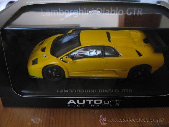 Impresionante Lamborghini Diablo Gtr Amarillo Sold Through