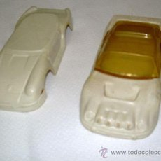 Slot Cars: 2 CARROCERIAS FORD RS Y PORSCHE 929 INCOMPLETA 1:32 VACUN LIGERAS IDEAL SCRATCH & BUILDING . Lote 26340877