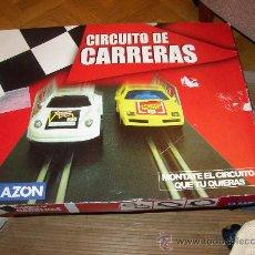 Slot Cars: CIRCUITO DE CARRERAS LA RAZON. Lote 25474945