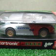 Slot Cars: (CARTRONIC) PORSCHE GT2 REPSOL --- VALIDO PARA TODAS LAS PISTAS. Lote 22993574