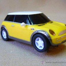 Slot Cars: COCHE, MINI COOPER , AMARILLO, SISTEMA EXCALEXTRIC, 8 X 4 CM. Lote 24270265