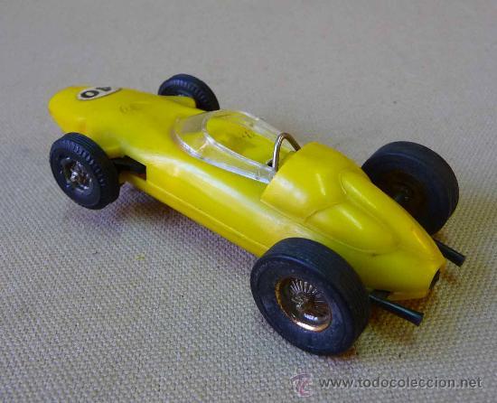 Slot Cars: RARO SLOT CAR, JOUEF, BRM, FORMULA 1, FABRICADO EN ESPAÑA, - Foto 2 - 33654441