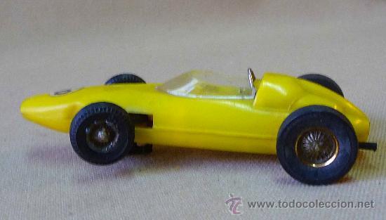 Slot Cars: RARO SLOT CAR, JOUEF, BRM, FORMULA 1, FABRICADO EN ESPAÑA, - Foto 3 - 33654441