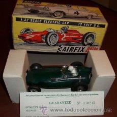 Slot Cars: VANWALL DE AIRFIX MOTOR RACING 1/32 - MADE IN ENGLAND (COMO NUEVO EN CAJA ORIGINAL) AÑOS 60. Lote 25669664
