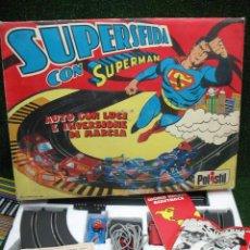 Slot Cars: POLISTIL - SUPERSFIDA CON SUPERMAN DN. 783. Lote 25379425