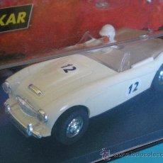 Slot Cars: PINK KAR AUSTIN HEALEY BLANCO NUEVO EN SU CAJA. Lote 118848386