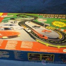 Slot Cars: CIRCUITO DE CARRERAS - INFERNAL CURVES DE ARTIN - QUE PASADA. Lote 28984844
