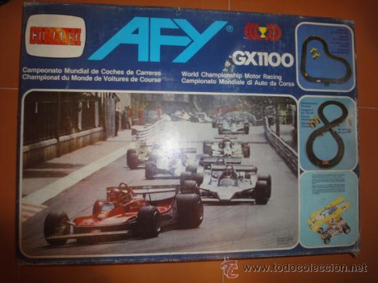 CIRCUITO COCHES AFY GX1100 COMANSI (Juguetes - Slot Cars - Magic Cars y Otros)
