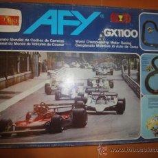 Slot Cars: CIRCUITO COCHES AFY GX1100 COMANSI. Lote 42846098