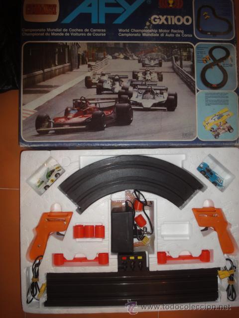 Slot Cars: CIRCUITO COCHES AFY GX1100 COMANSI - Foto 2 - 42846098