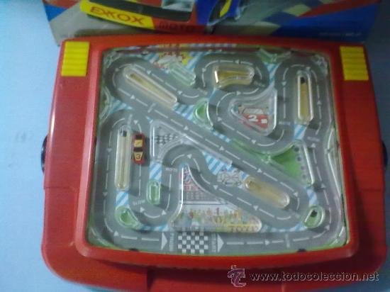 Slot Cars: RACING CAR GRAND PRIX,BATTERY POWER HAND HELD GAME (FUNCIONA) - Foto 4 - 29445895