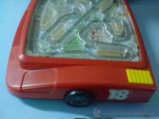 Slot Cars: RACING CAR GRAND PRIX,BATTERY POWER HAND HELD GAME (FUNCIONA) - Foto 3 - 29445895