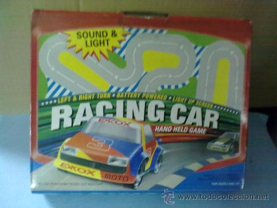 RACING CAR GRAND PRIX,BATTERY POWER HAND HELD GAME (FUNCIONA) (Juguetes - Slot Cars - Magic Cars y Otros)