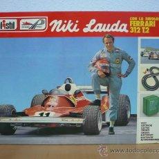 Slot Cars: CIRCUITO GRAND PRIX NIKI LAUDA DE POLISTIL/FERRARI 312 T-2,AÑO 1977,A ESTRENAR. Lote 53511734