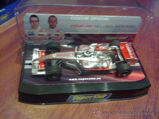 MACLAREN F1 FERNANDO ALONSO NUEVO DE SUPERSLOT (Juguetes - Slot Cars - Magic Cars y Otros)