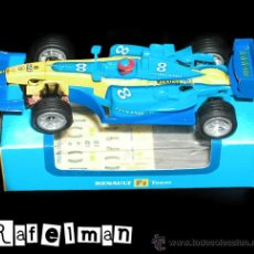 Slot Cars: RENAULT F.1 TEAM - FERNANDO ALONSO - CIRCUITO SCALEXTRIC AS. Lote 31199427