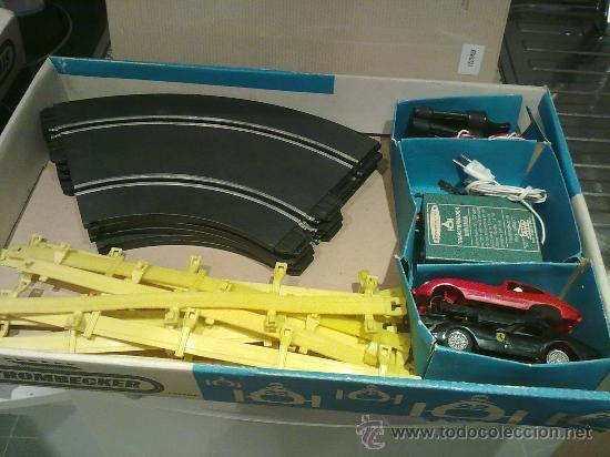 CIRCUITO AUTODROMO STROMBECKER- PAYA AÑO 1960 SIN COCHES (Juguetes - Slot Cars - Magic Cars y Otros)