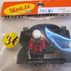 Slot Cars: SLOT IT: BANDEJA DE PILOTOS MAZDA (NUEVO EN BLISTER ). Lote 32029647
