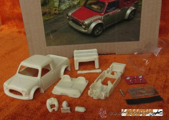 Mini Cooper Pick Up Resin Body Slot Kit 132 Sold Through Direct