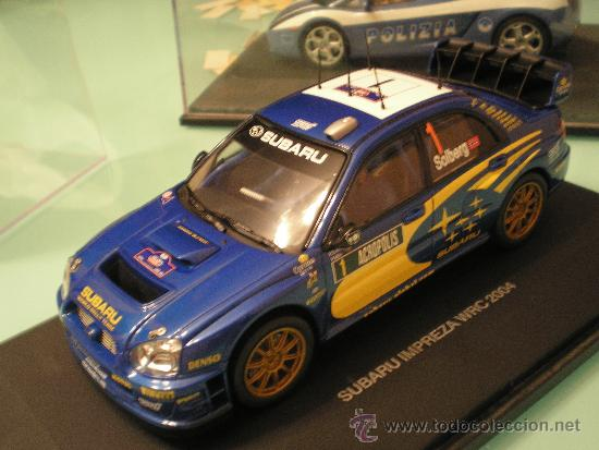 SCALEXTRIC SUBARU IMPREZA WRC 2004 1/24 NUEVO EN CAJA (Juguetes - Slot Cars - Magic Cars y Otros)