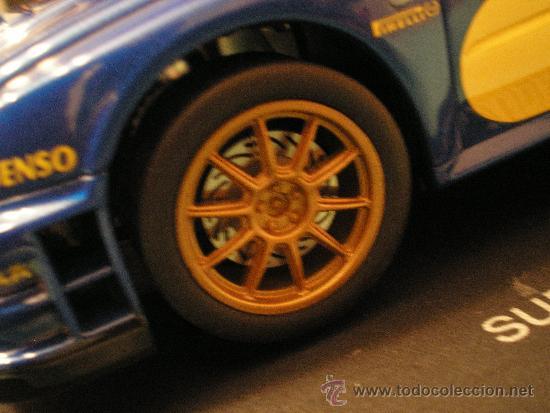 Slot Cars: SCALEXTRIC SUBARU IMPREZA WRC 2004 1/24 NUEVO EN CAJA - Foto 2 - 35153759