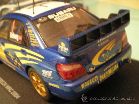 Slot Cars: SCALEXTRIC SUBARU IMPREZA WRC 2004 1/24 NUEVO EN CAJA - Foto 3 - 35153759