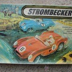 Slot Cars - CAJA CON CIRCUITO DE SLOT STROMBECKER PAYÀ - 35936966