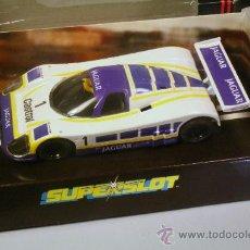 Slot Cars: SUPERSLOT- JAGUAR XJR9- CON LUZ. Lote 36023717
