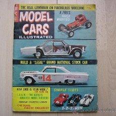 Slot Cars: REVISTA MODELS CARS JUNIO 1964 VENDIDA EN ESPAÑA. STROMBECKER REVELL AURORA (1/48) SCRATCH BUILT.... Lote 36755836